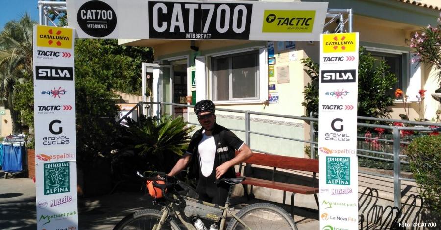 Arriba el primer corredor de la CAT 700