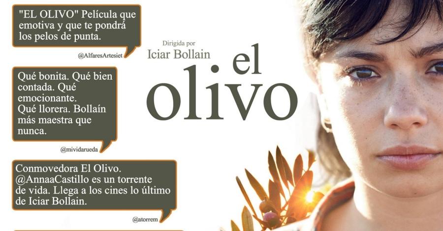 """Projecció de la pel·lícula """"El Olivo"""" i debat amb membres de la plataforma  Salvem lo Montsià"""
