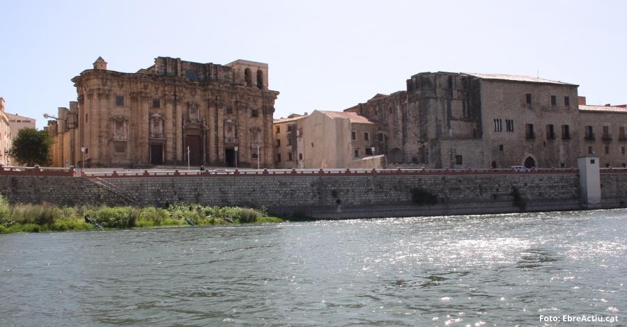 La nova plaça de la Catedral de Tortosa tindrà un mirador al riu