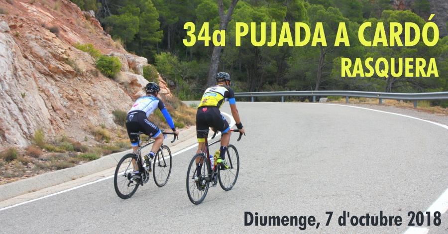 34a Pujada ciclista a Cardó