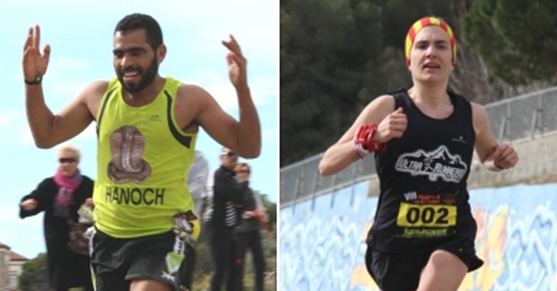 Lhoussain Abaghad i  Marta Paulino s'imposen a la 8ª Pujada a la Foradada