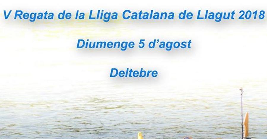 V Regata de la Lliga Catalana de Llagut 2018