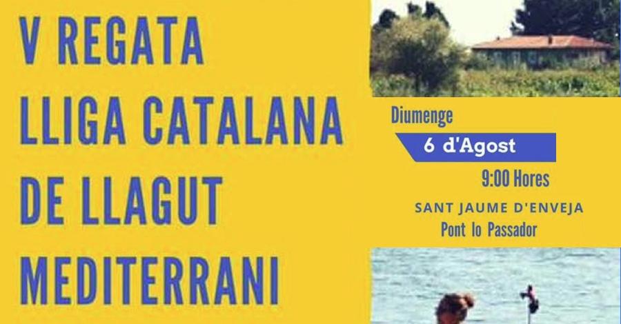 V Regata Lliga Catalana de Llagut Mediterrani 2017