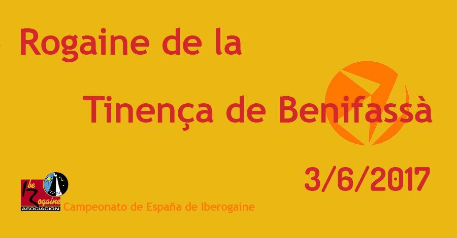 Rogaine de la Tinença de Benifassà. Campionat d'Espanya d'Iberogaine