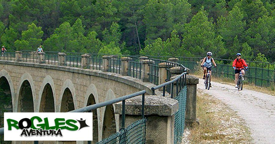 Activitats a l'Ebre i Via Verda amb Rogles Aventura