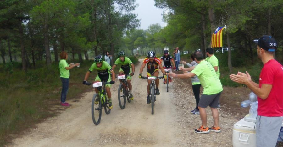 Pau Romero i Arantxa Salvadó guanyen la II Emburgada Bike Race