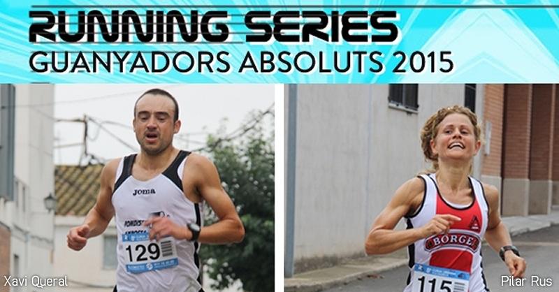 Finalitza el Running Series Terres de l'Ebre 2015 amb Xavi Queral i Pilar Rus com a guanyadors absoluts