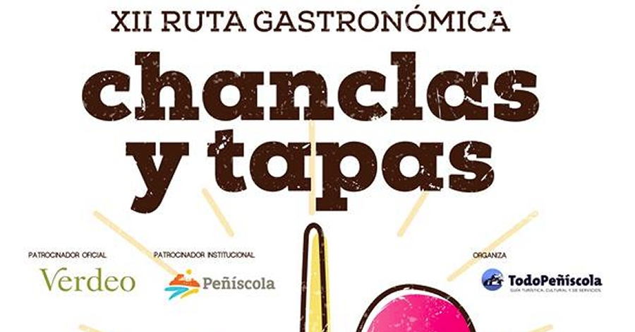 XII Ruta gastronòmica Chanclas y tapas