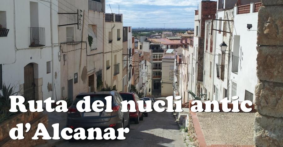 Ruta del nucli antic d'Alcanar