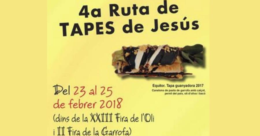 4a Ruta de tapes de Jesús