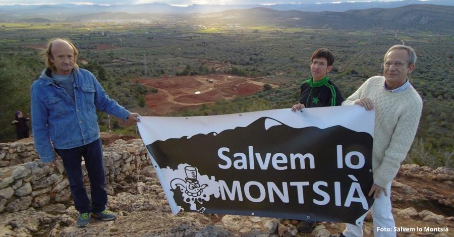 Salvem lo Montsià denuncia que Cemex continua extraent terres prop del jaciment arqeològic de la Ferradura