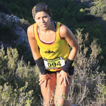 Sandra Burgués: «Em vaig inscriure a una marxa, però vaig fer la cursa i em va enganxar»