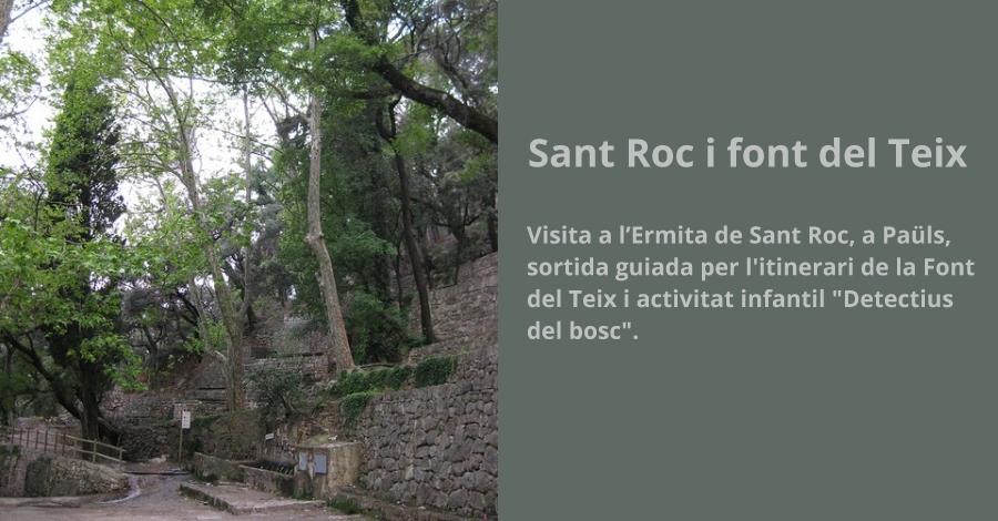 Sant Roc i Font del Teix