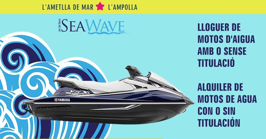 Seawave: lloguer de motos d'aigua