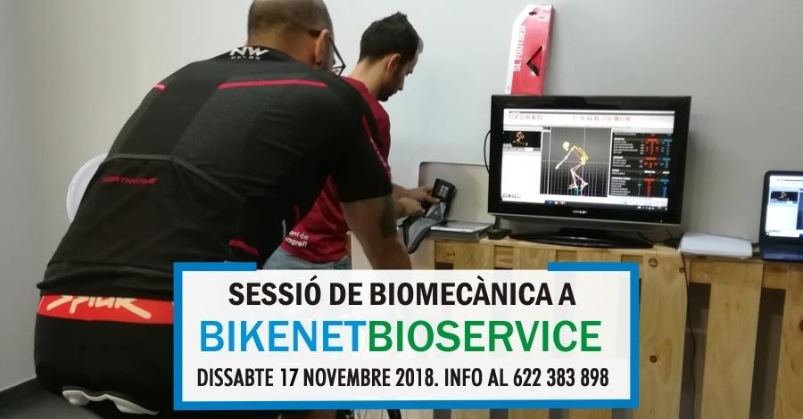 Sessió de Biomecànica a BikenetBioservice