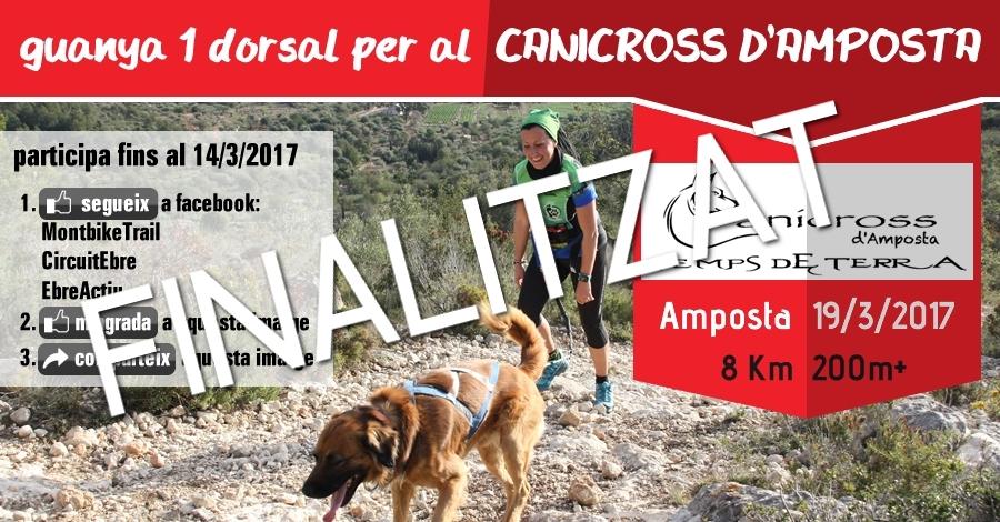 [finalitzat] Sorteig 1 dorsal: Canicross d´Amposta - Temps de Terra (8 Km i 200m+) del 19/3/2017