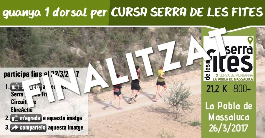 [finalitzat] Sorteig 1 dorsal: Cursa Serra de les Fites (21,2 Km i 800m+) del 26/3/2017