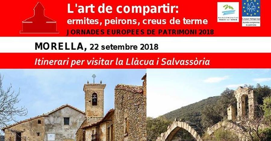 Itinerari per visitar la Llàcua i Salvassòria