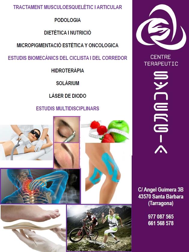 SYNERGIA. Centre terapèutic<br>Santa Bàrbara   EbreActiu.cat, revista digital per a la gent activa