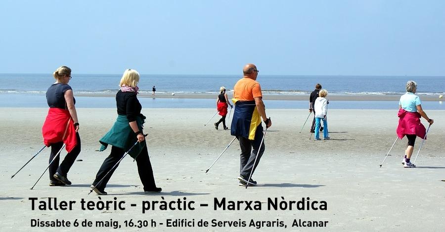 Taller teòric - pràctic – Marxa Nòrdica (molt més que caminar)