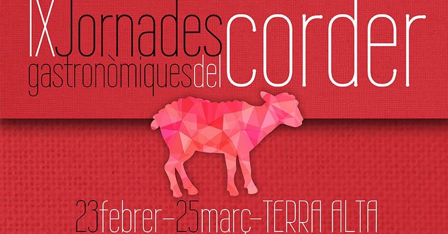 La Terra Alta presenta una nova edició de les Jornades Gastronòmiques del Corder
