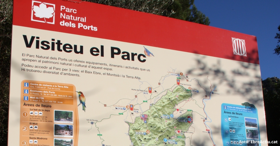 La Generalitat licita la millora de la senyalització als parcs naturals del Delta de l'Ebre i dels Ports