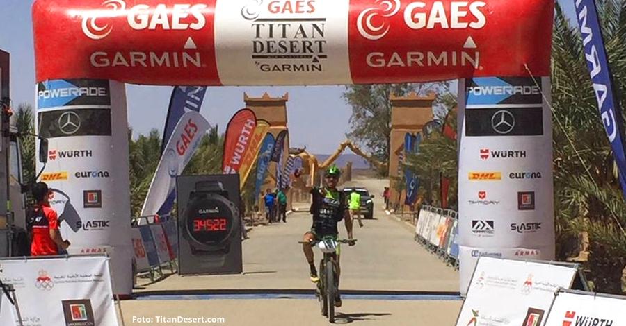 La quarta jornada de la Titan Desert acaba amb una victòria èpica de José Luis Gómez