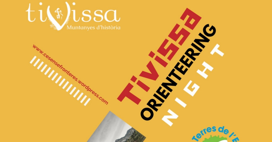 Tivissa Orienteering Night. Cursa popular d'orientació