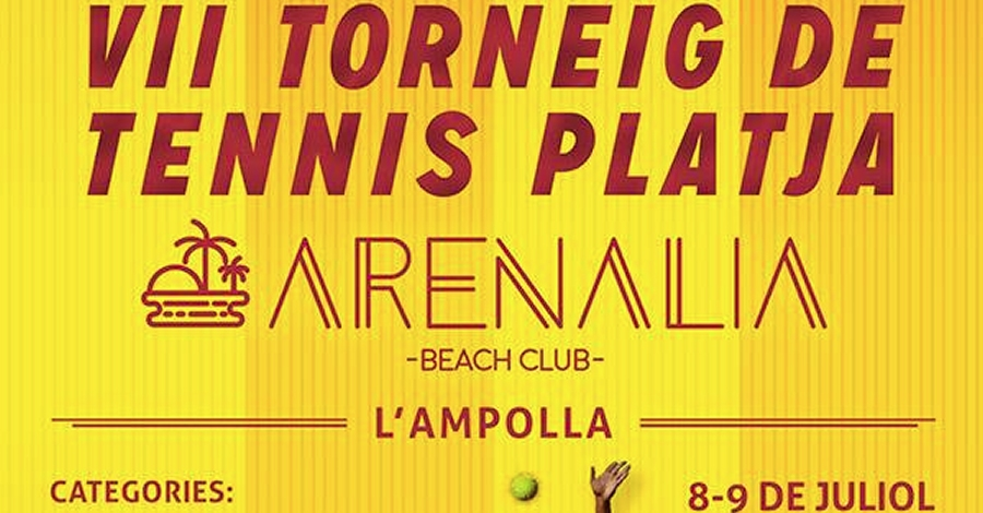 VII torneig de Tennis Platja Arenalia Beach Club