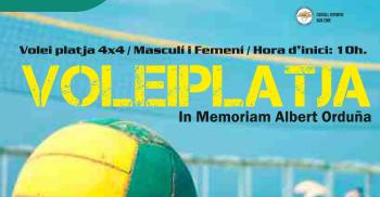 XII Torneig 4x4 de volei platja In Memoriam Albert Ordu�a