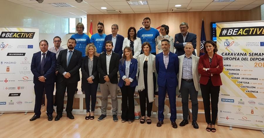 Tortosa participarà a la Semana Europea del Deporte 2018 | EbreActiu.cat, revista digital per a la gent activa | Terres de l