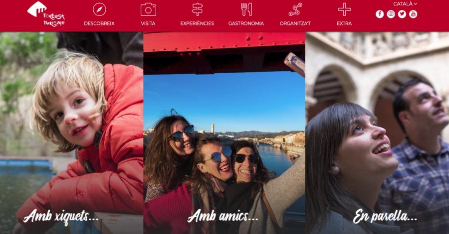 Tortosa presenta una nova web de turisme per potenciar la marca de destinació