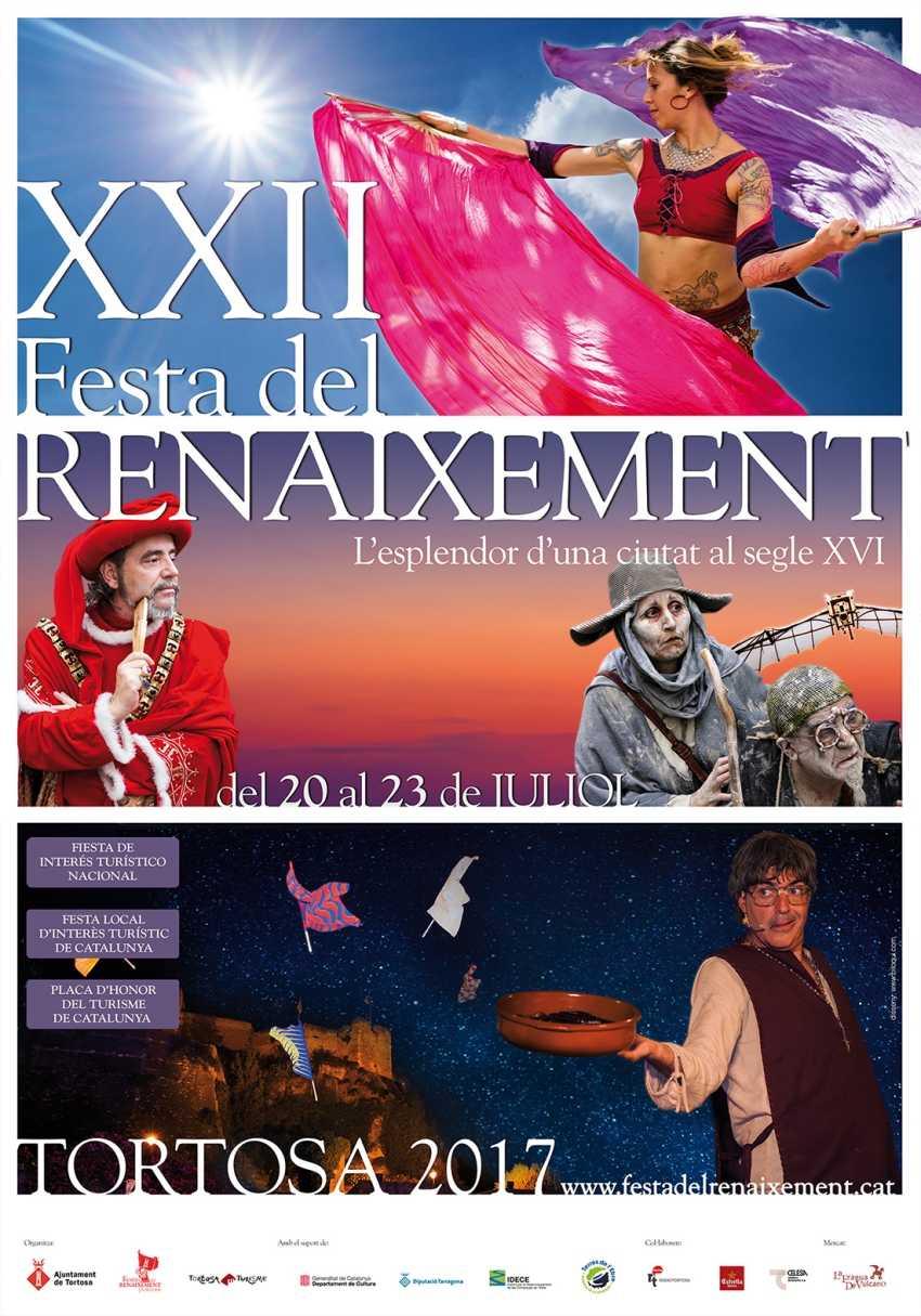 Tortosa presenta la programació de la XXII Festa del Renaixement | EbreActiu.cat, revista digital per a la gent activa