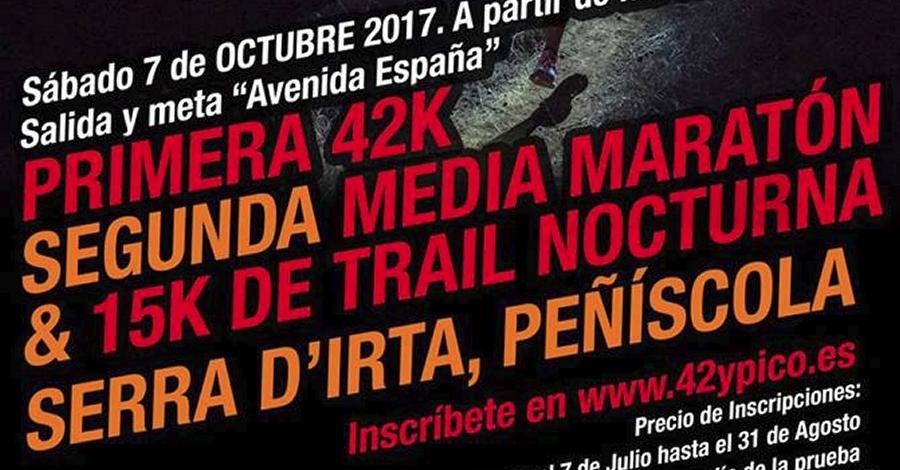 II Mitja Marató & 15K de Trail Nocturn i I Marató 42K Serra d'Irta