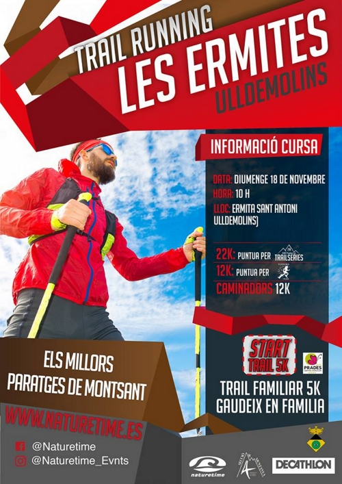 Trail Running Les Ermites d'Ulldemolins