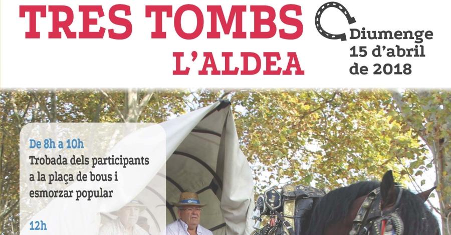 Tres Tombs L'Aldea