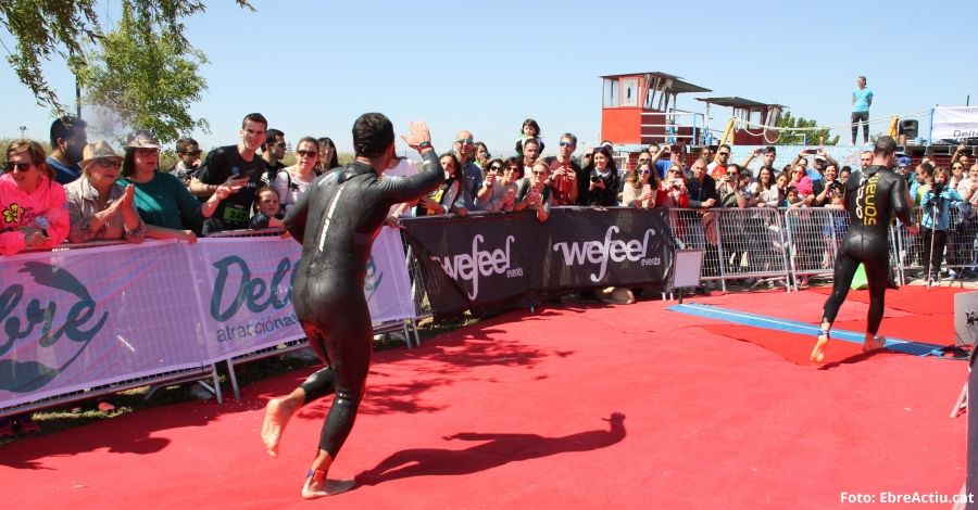 La cinquena edició de la Triatló de Deltebre comptarà amb més de 1000 participants
