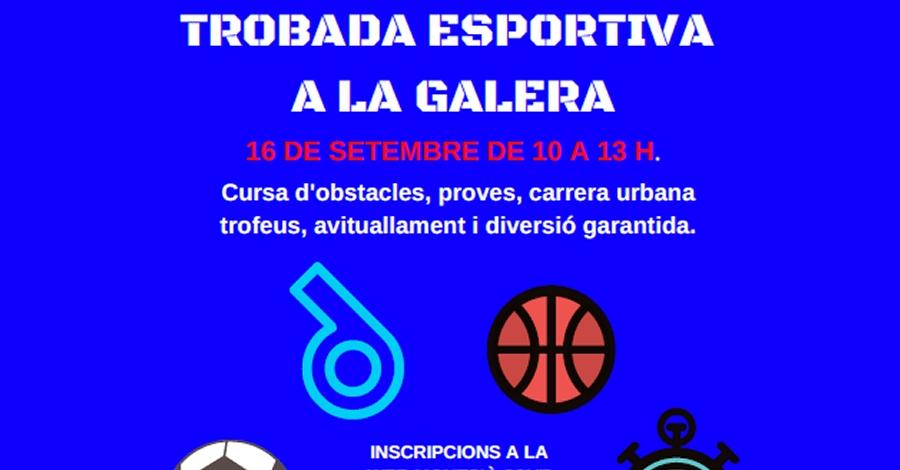 Trobada esportiva a La Galera