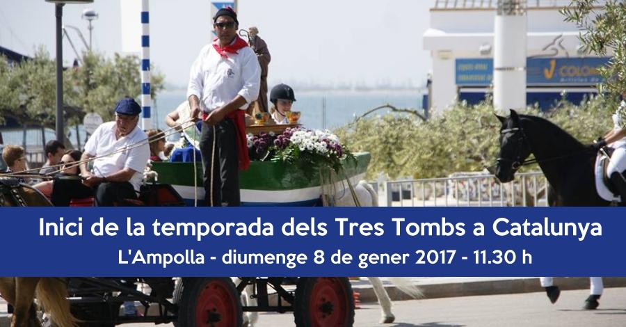 Inici de la temporada dels Tres Tombs de Catalunya