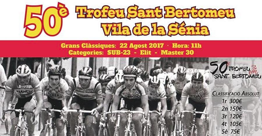 50è Trofeu Sant Bertomeu Vila de la Sénia