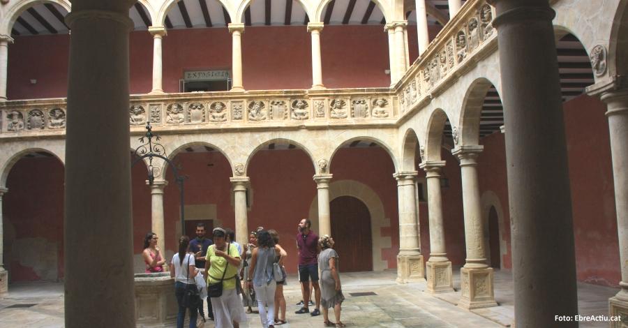 L´ocupació hotelera a Tortosa creix un 12% aquest estiu
