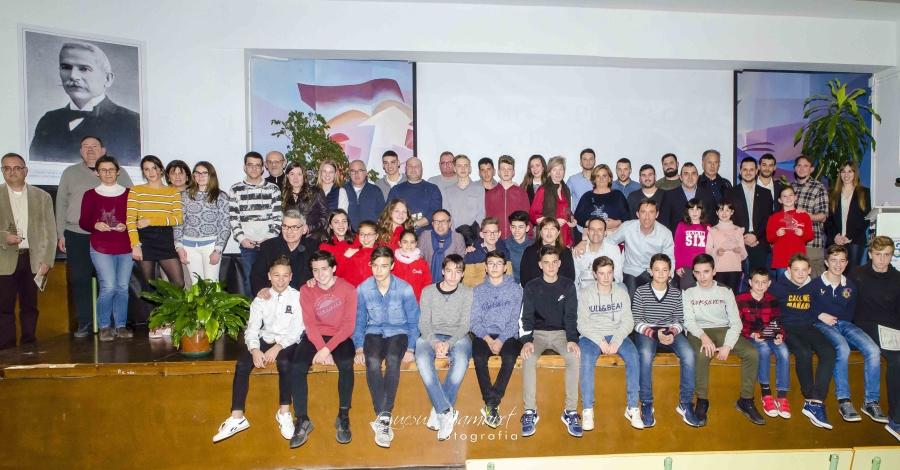 Ulldecona premia 16 esportistes i 14 entitats en la XV Nit de l'Esport Local