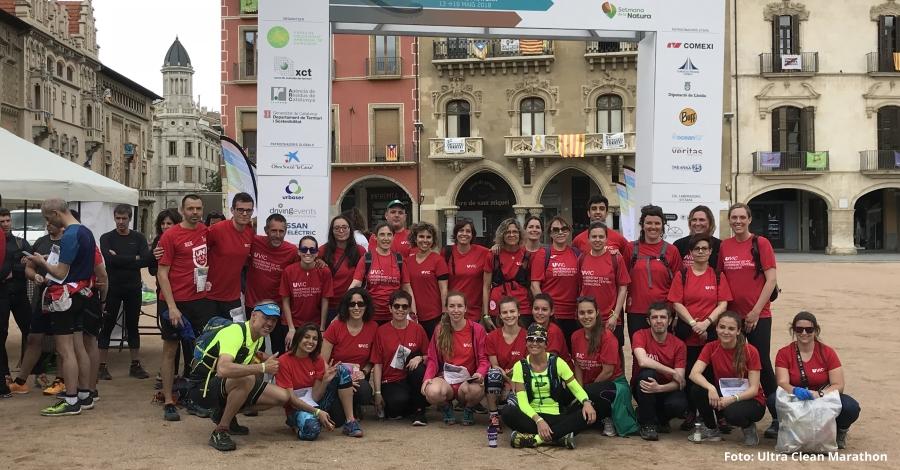 L'Ultra Clean Marathon arriba al Delta de l'Ebre en la seva penúltima etapa