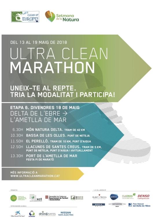 L'Ultra Clean Marathon arriba al Delta de l'Ebre en la seva penúltima etapa | EbreActiu.cat, revista digital per a la gent activa