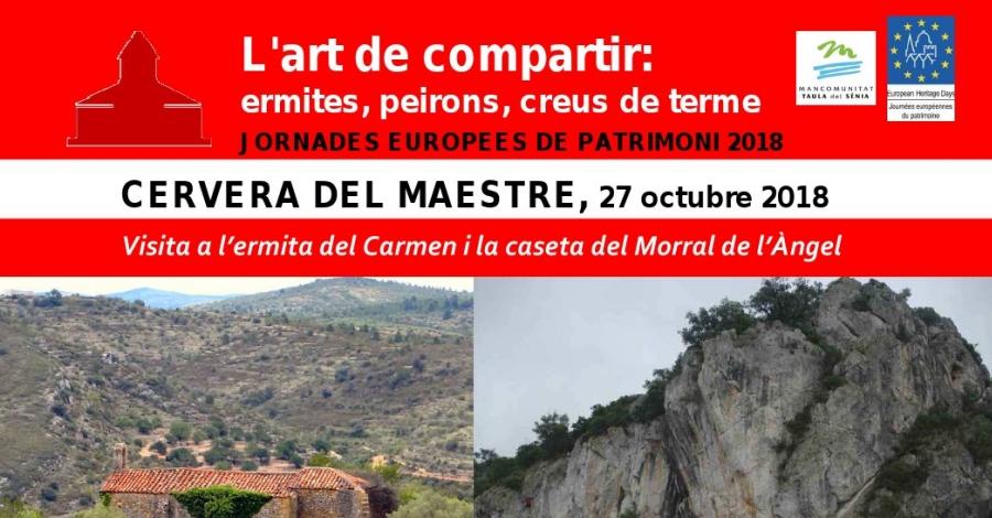 Visita a l'ermita del Carmen i la caseta del Morral de l'Àngel