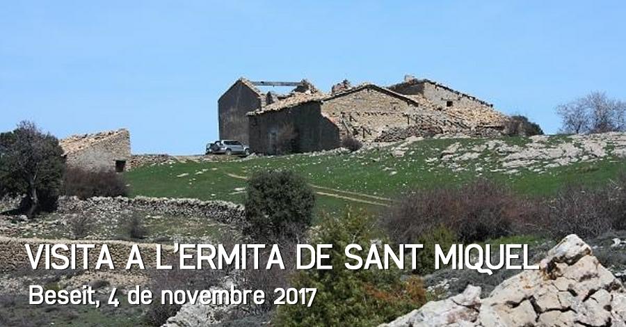 Visita a l'ermita de Sant Miquel