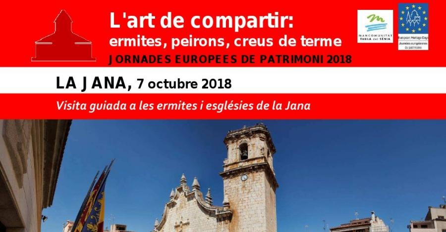 Visita guiada a les ermites i esglésies de la Jana