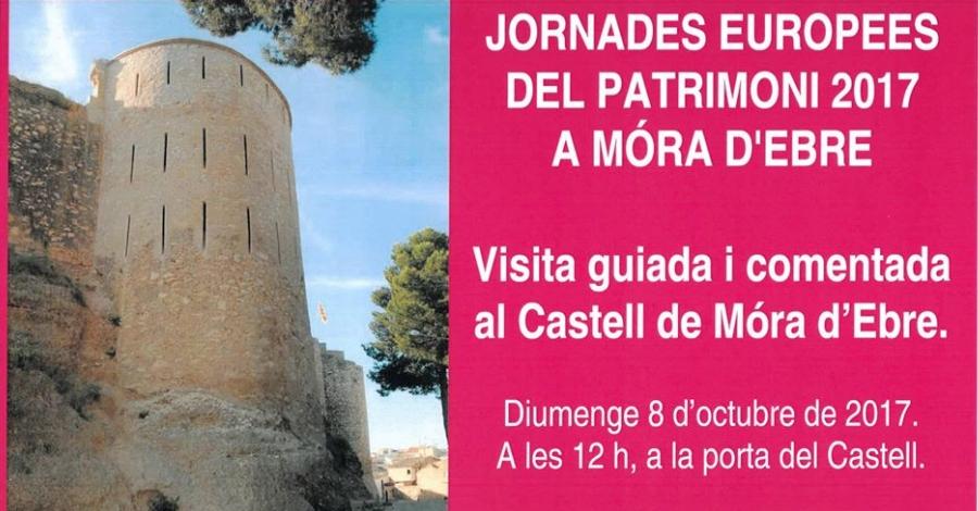 Visita guiada i comentada al castell de Móra d'Ebre