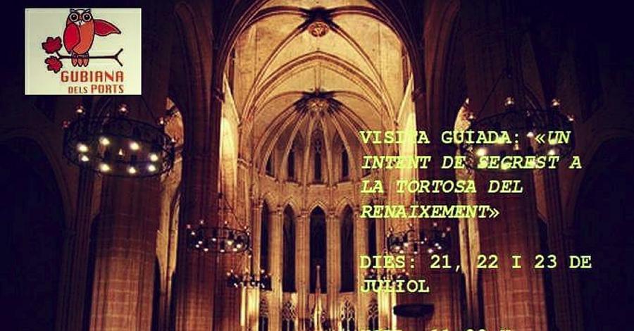 Visita guiada «Un intent de segrest a la Tortosa del Renaixement»
