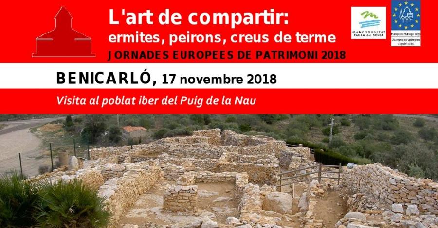 Visita al poblat iber del Puig de la Nau